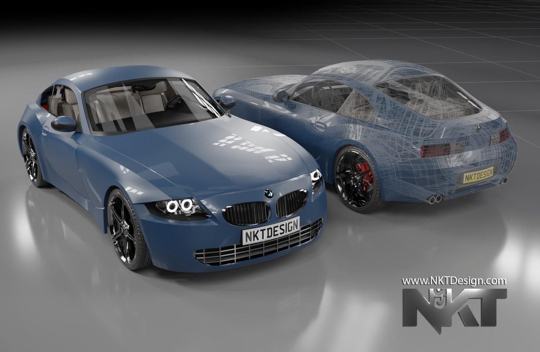 car z4 3D model