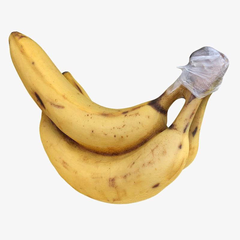 bananas games photoreal 3D model