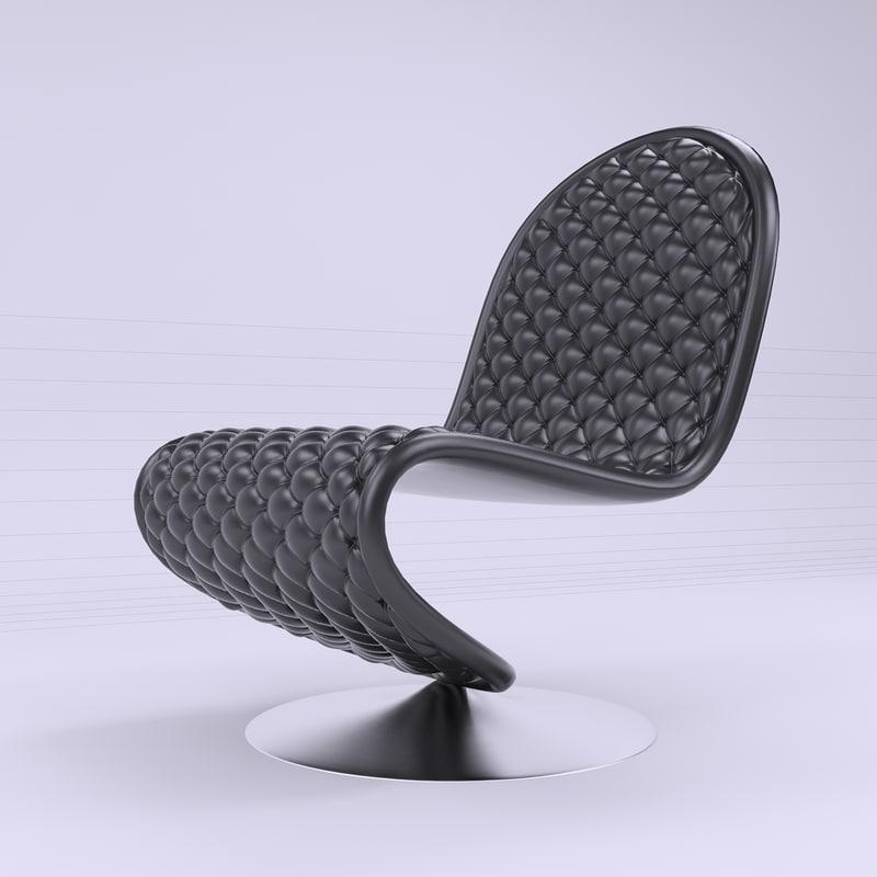 verpan chair 3D model