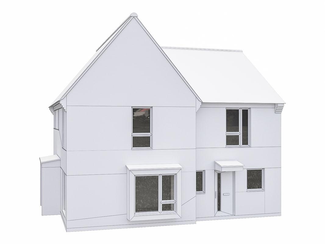 house scenes 3D model