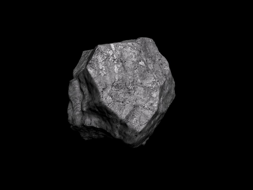 3D loded rock