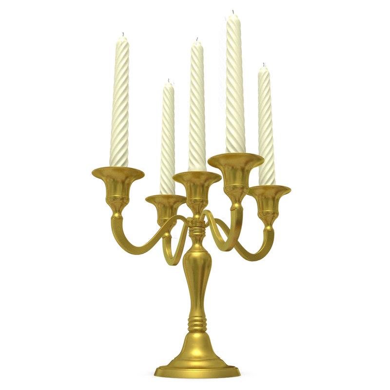 candelabra 3D