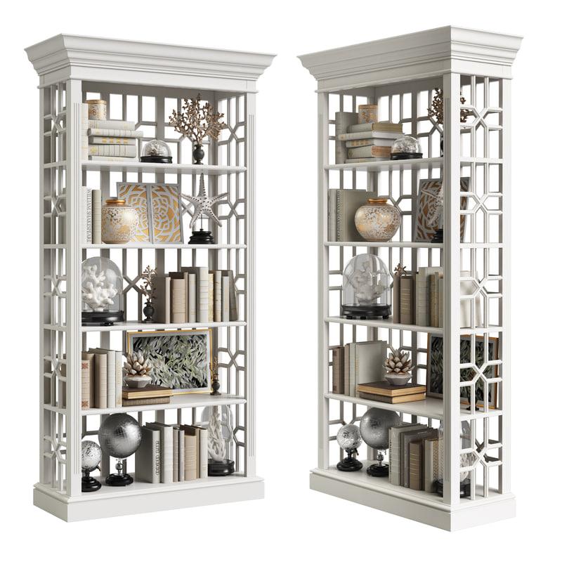 3D eichholtz cabinet colliers 111391 model