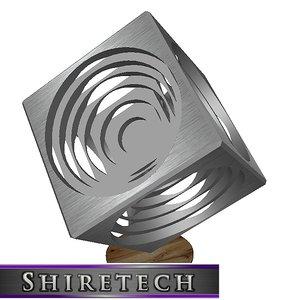 3D model art cube 05