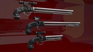 pirate rifle pistol model