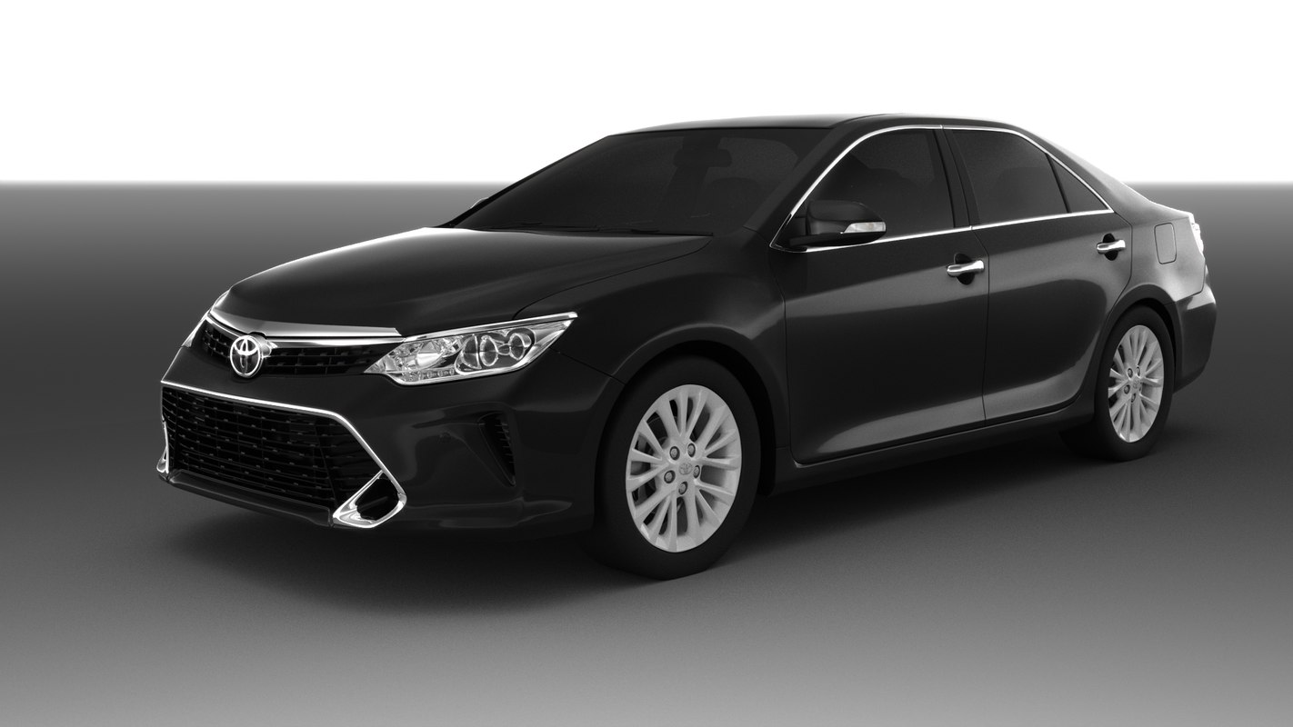 3D toyota camry 2017 model