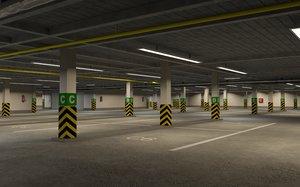 3D underground parking