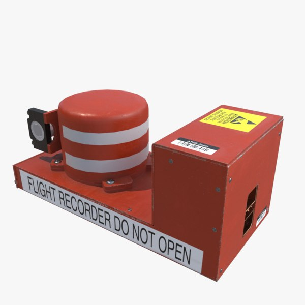 3D flight recorder model