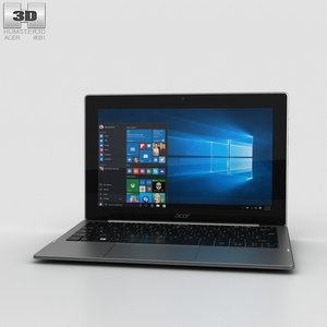 3D acer aspire switch