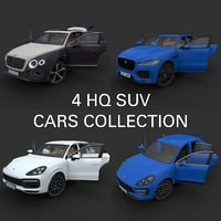 suvs bentley porsche cayenne 3D
