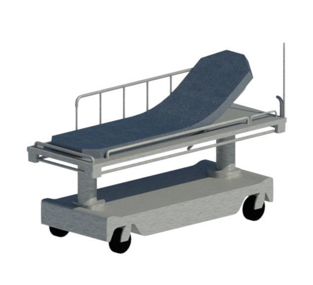 3D stretcher model