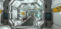 SciFi Corridor Set