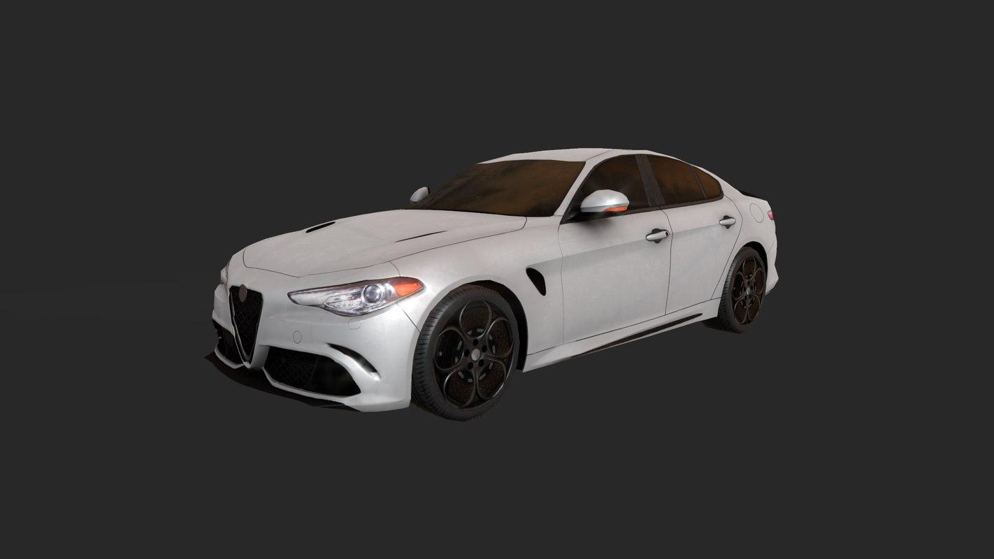 car pbr 3D