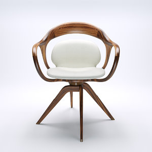 norah chair 3D model