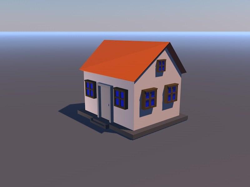 3D model mini house