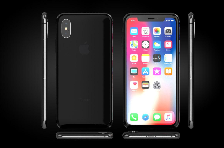 phone x 3D model