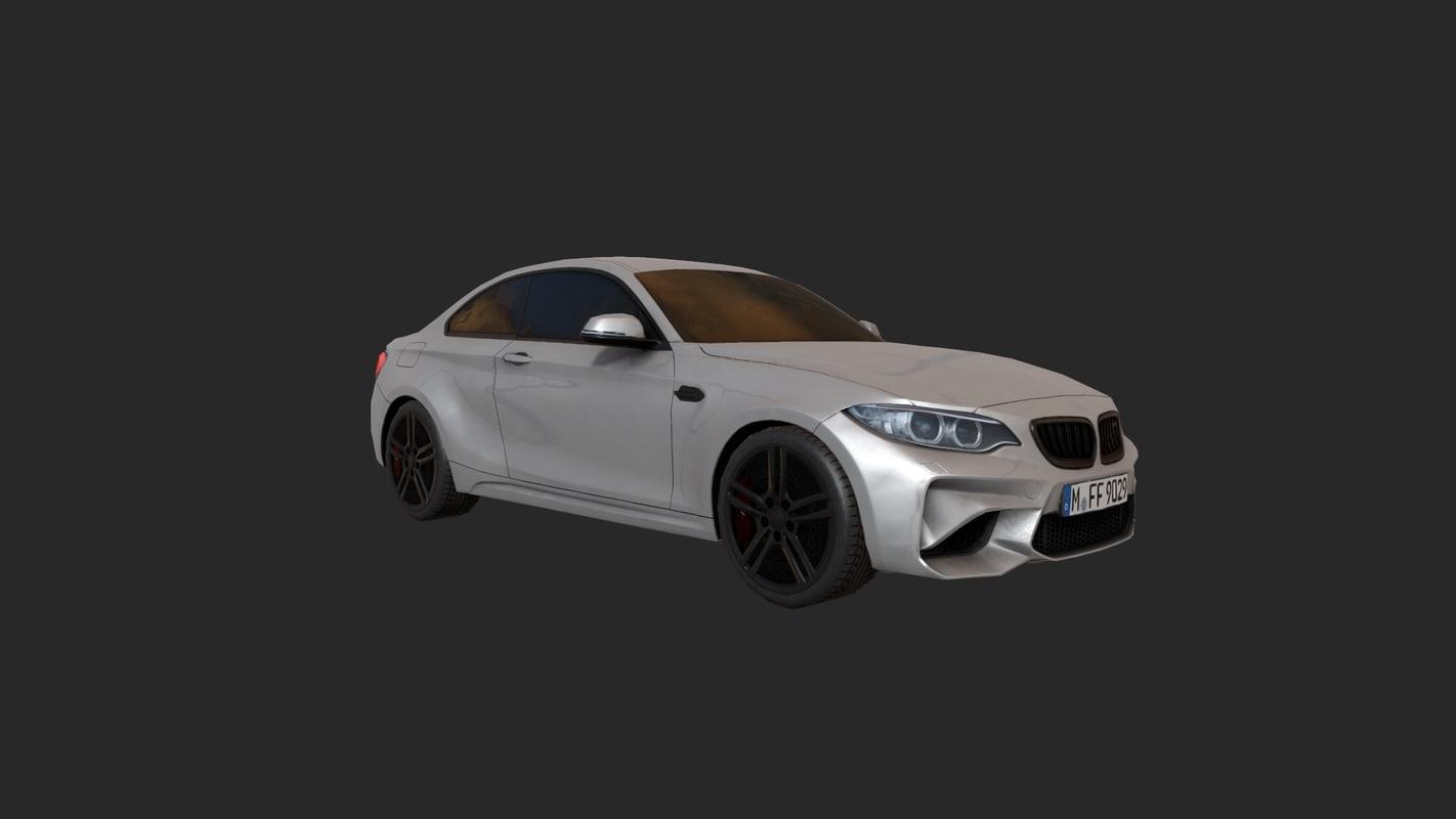 3D car pbr