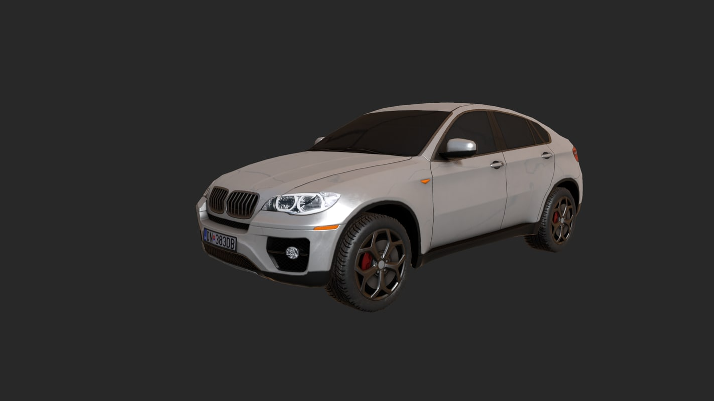 car pbr 3D model