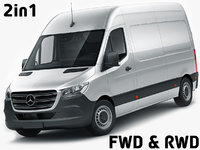 Mercedes Sprinter 2018 high roof