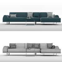 sectional sofa portland 3 3D model