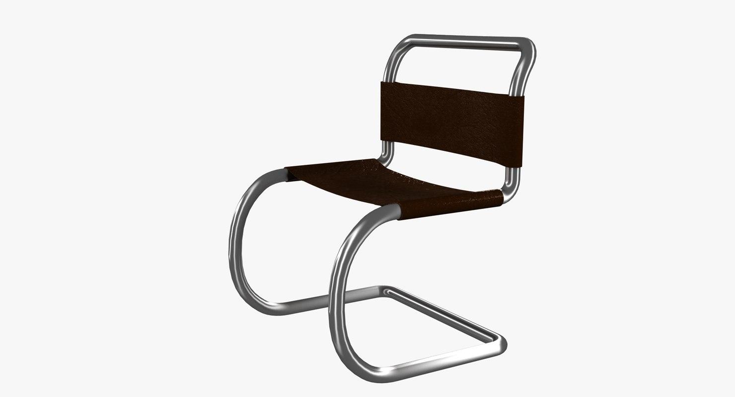3D minimalist chair