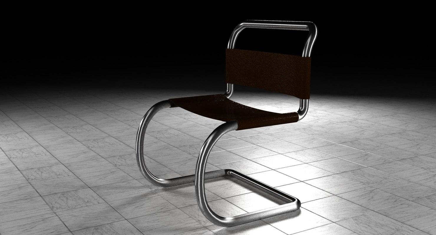 3D Minimalist Chair; 3D Minimalist Chair ...