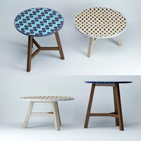 3D mosaic-tiled-bistro-table