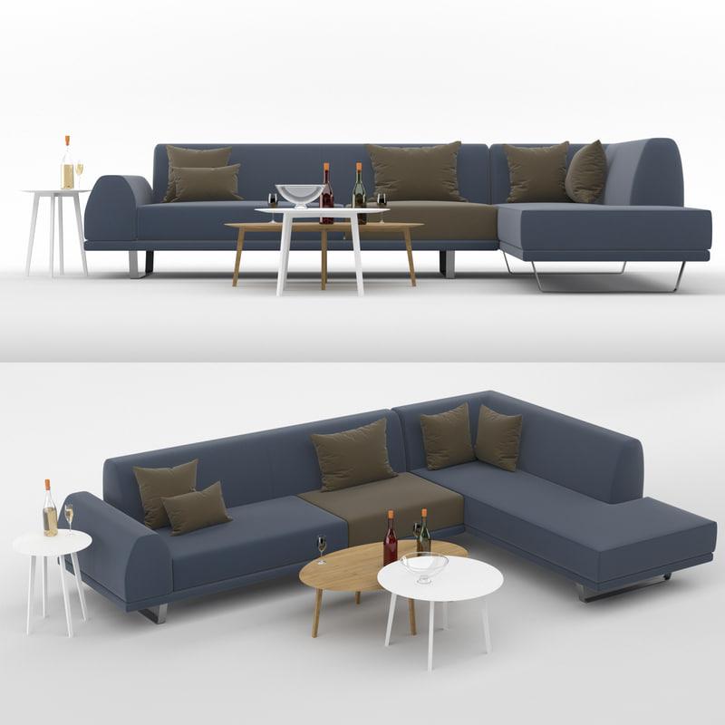 sectional sofa portland model