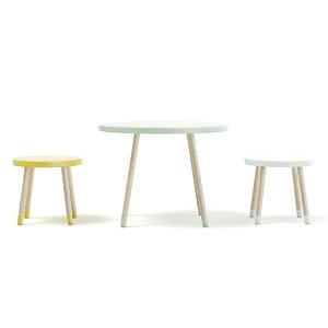 3D model children s table stools