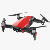 dji mavic air 3D