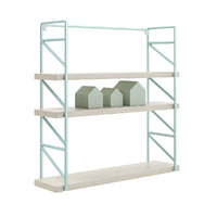 3D wall shelf house shaped