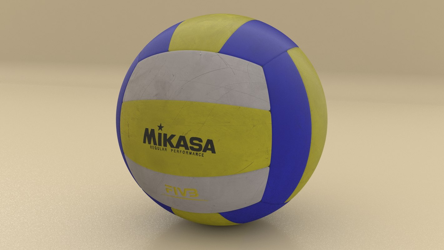 3D professional volley ball