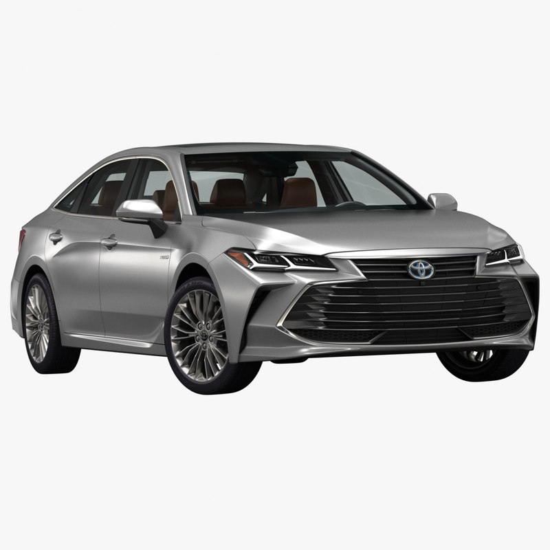 3D 2019 toyota avalon model