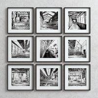 picture frames set -8 3D model