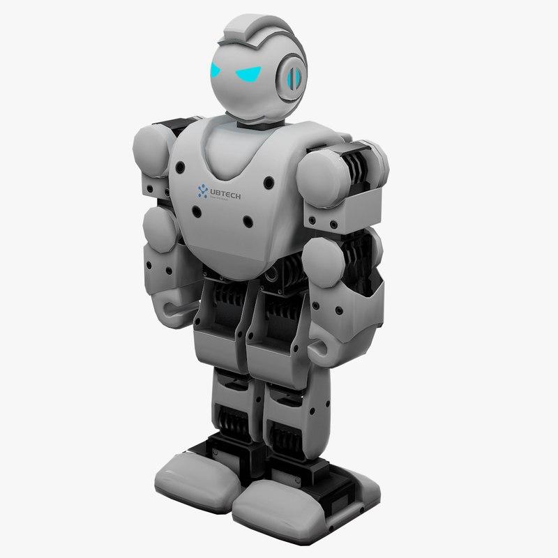 alpha pro robot 3D