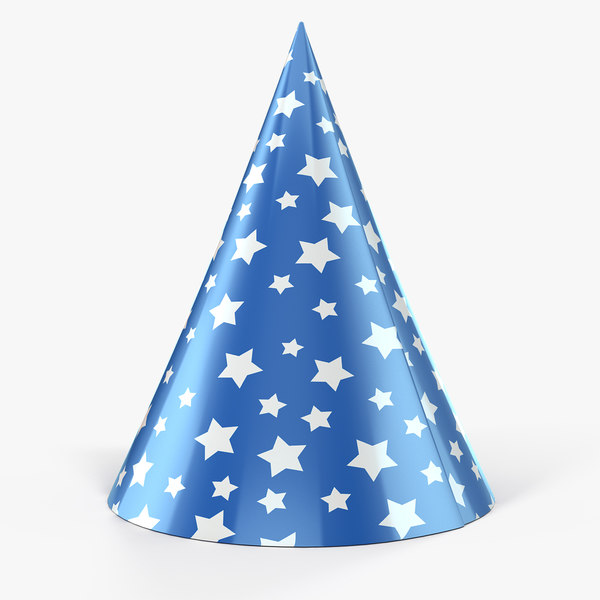star party hat model