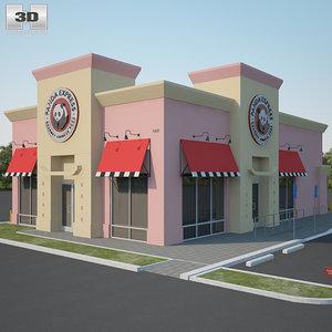 panda express restaurant 3D model