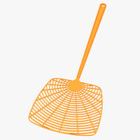 plastic fly swatter 3D