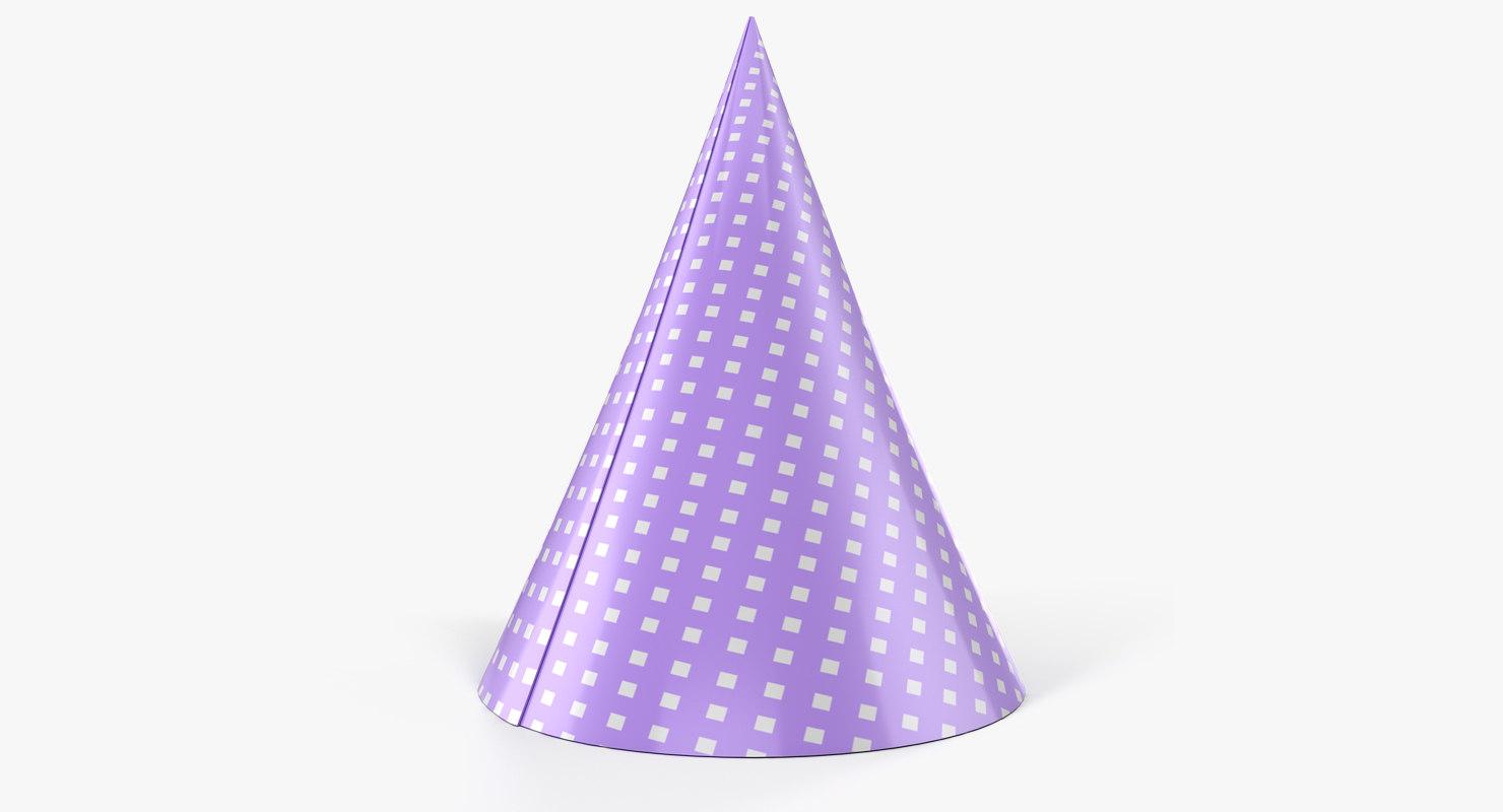 3D party hat
