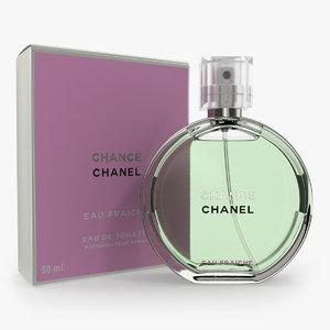 3D parfum chanel chance eau