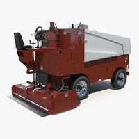 ice resurfacing machine 3D model