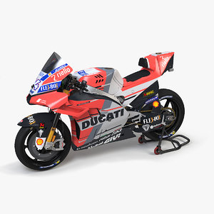 3D ducati desmosedici gp18 model