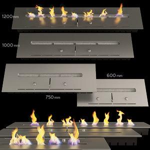 3D biofireplot