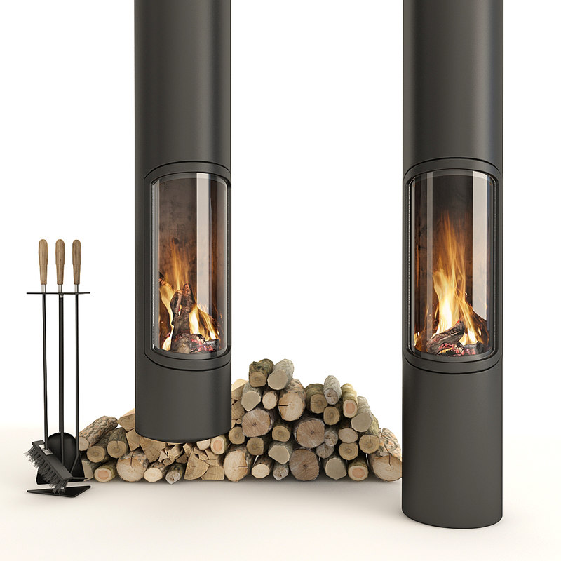 fireplace focus slimfocus 3D