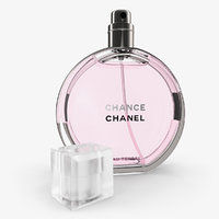 3D chanel chance eau tendre model