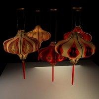 Chinese red lantern