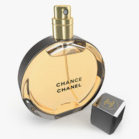 chanel chance eau parfum 3D model