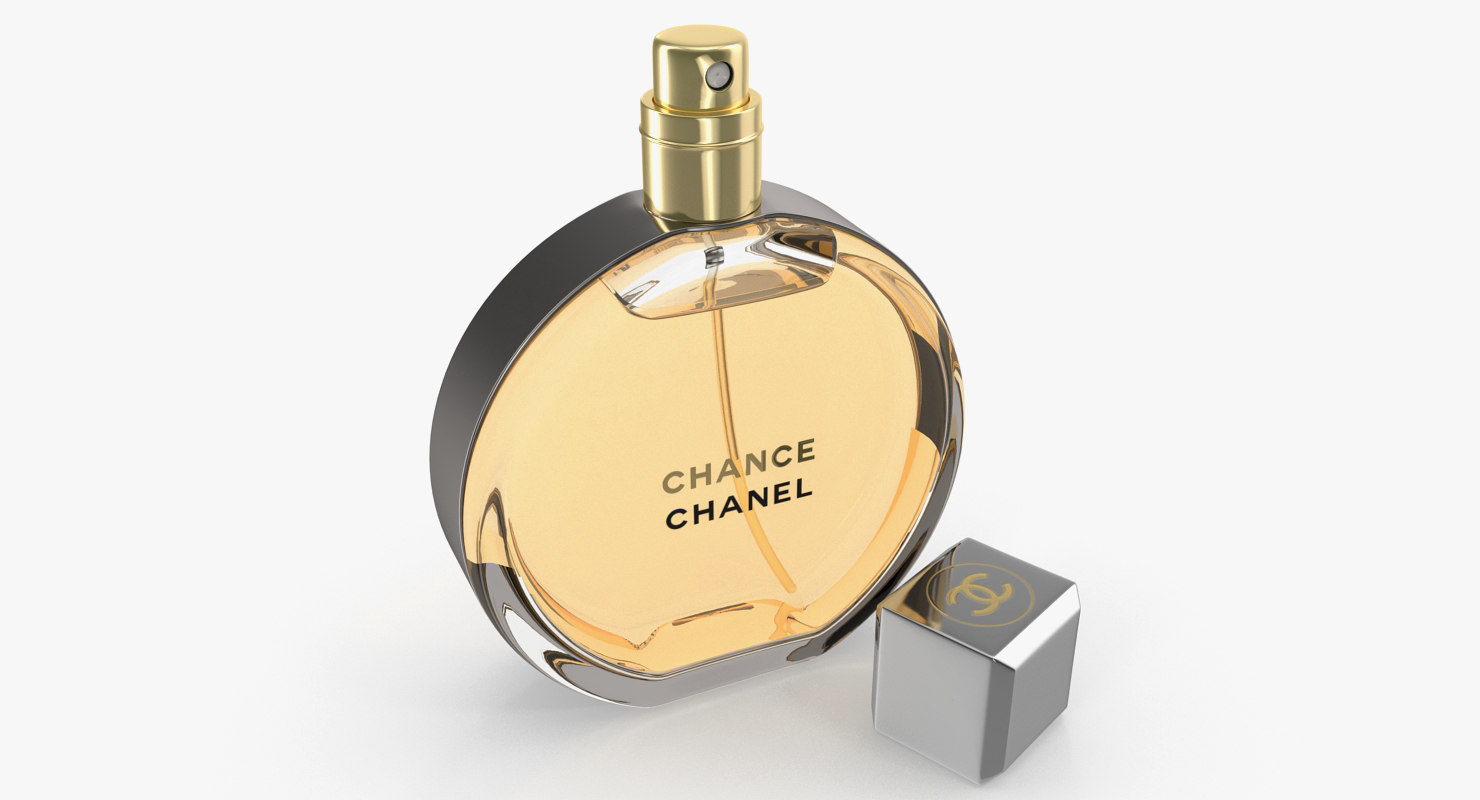 Chanel Chance Eau Parfum 3d Model Turbosquid 1265078