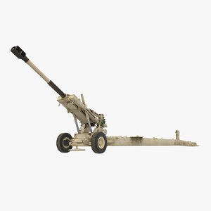 artillery m198 155mm howitzer model
