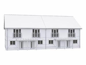 neighborhood house 3D model
